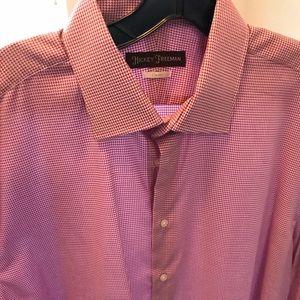 Hickey Freeman Brand New 16.5 Men's Dress Shirt